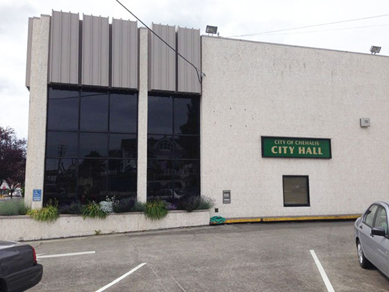 street view of Chehalis City Hall