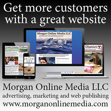 Advertisement for Morgan Online Media