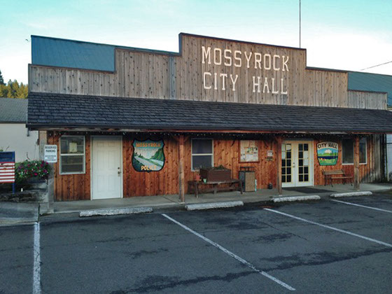 street view of Mossyrock City Hall