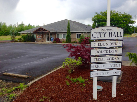 street view of Napavine City Hall